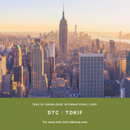 Tree of Knowledge International Granted DTC Eligibility for the U.S. OTC Market